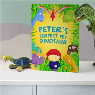 Perfect Pet Dinosaur - Softback